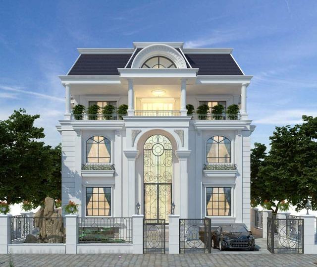 nhà phố mái Thái kiểu biệt thự phố