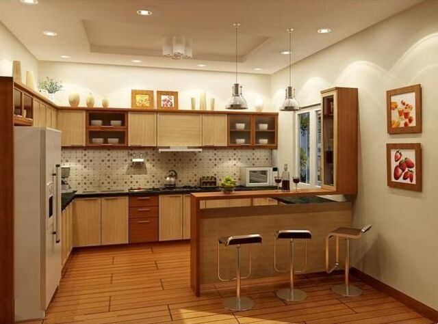 màu sắc phòng bếp tuổi nhâm dần